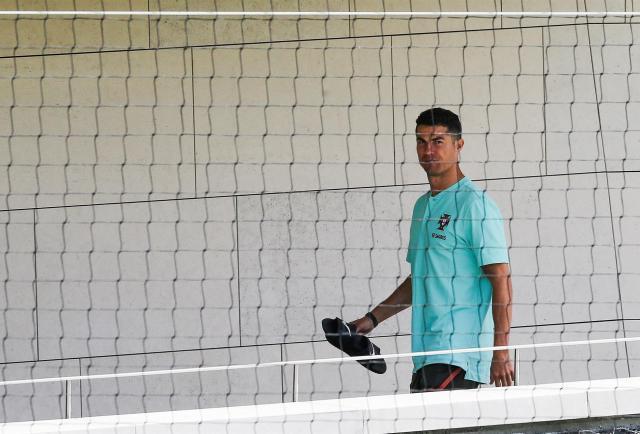 """Allegri confirma que Cristiano Ronaldo """"se queda"""" en la Juventus"""