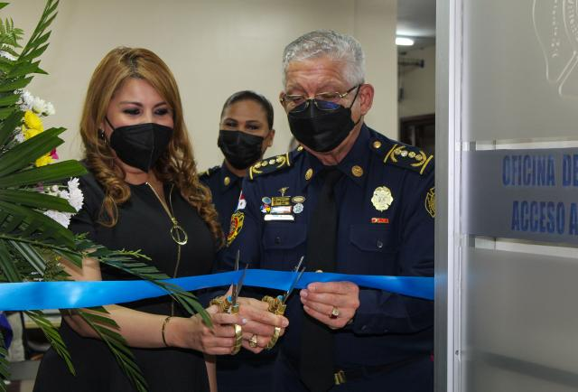 El Departamento de Bomberos de Panamá inaugura la Oficina de Transparencia y Acceso a la Información Pública