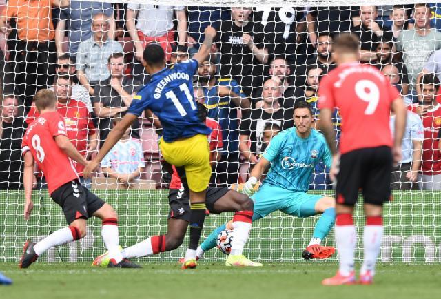 Greenwood y De Gea evitan la derrota del Manchester United
