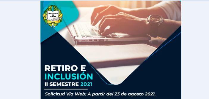Mañana, 23, comienza el período de retiro e inclusión en la Universidad de Panamá