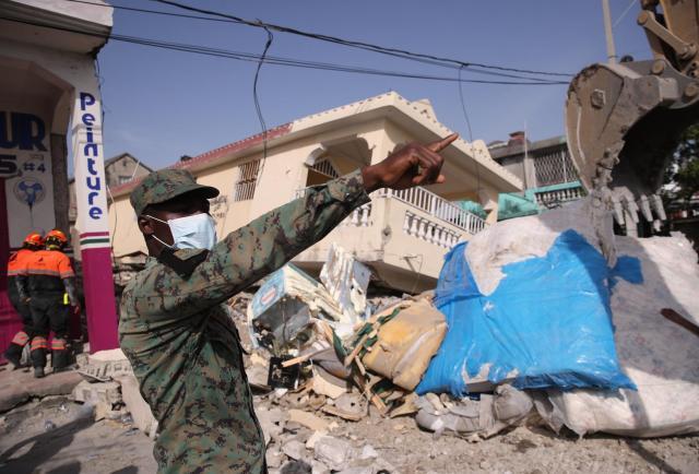 Se acaba el tiempo para encontrar supervivientes en Haití tras 7 días del terremoto