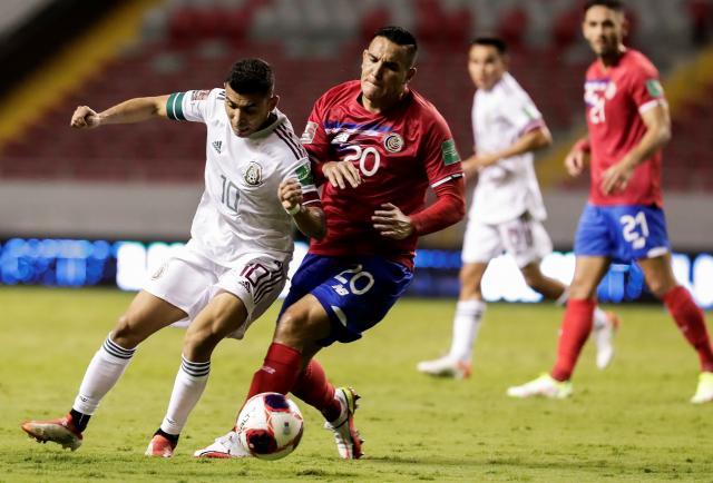 México derrota a Costa Rica inofensiva con gol de penalti de Pineda