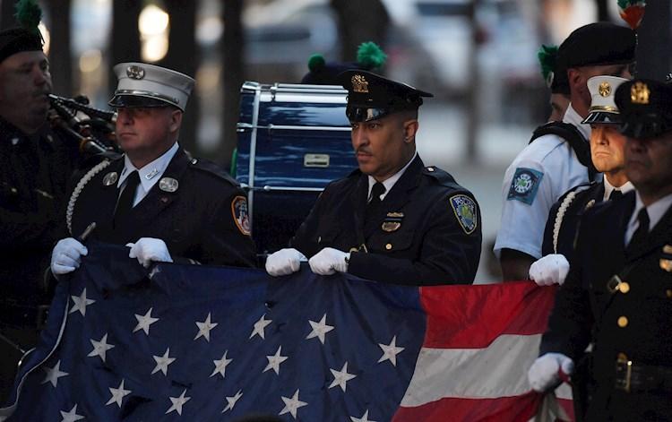Nueva York recuerda los ataques del 11 de septiembre 20 años después con un acto solemne
