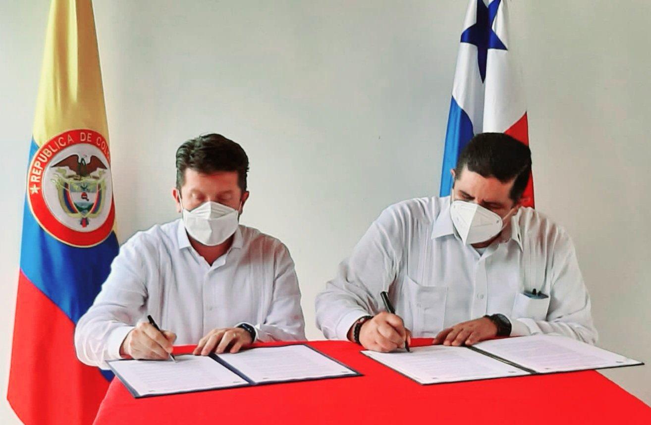 Panamá y Colombia firman declaración para combatir el crimen organizado