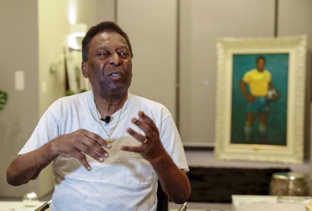 Pelé, ingresado por 6 días en un hospital luego de exámenes de rutina