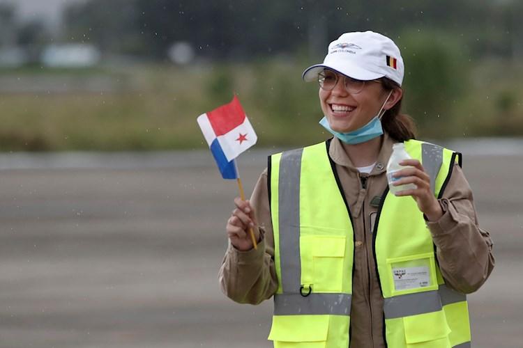 Zara Rutherford, la piloto más joven en dar la vuelta al mundo llega a Panamá