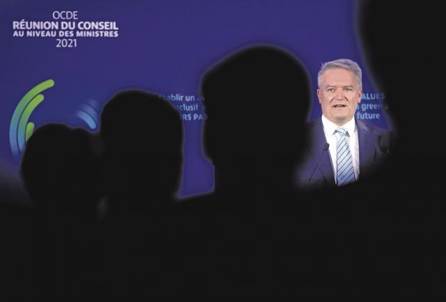 Acuerdo 'histórico' para la fiscalidad global de las grandes empresas