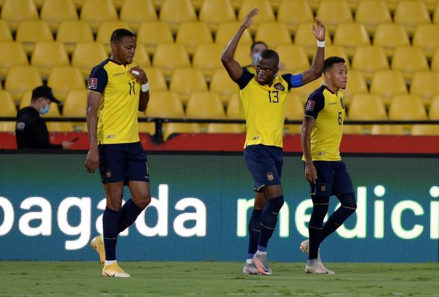Ecuador llega a Venezuela ansioso por la victoria para fortalecer su clasificación