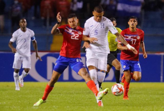Honduras y Costa Rica siguen sin ganar en las eliminatorias de Concacaf
