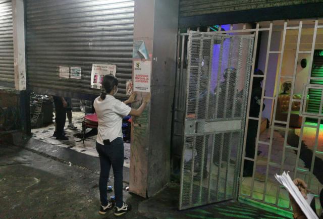 Minsa detecta actividad en barra suspendida por incumplimiento de normativa sanitaria